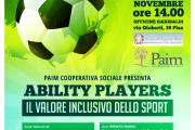 Ability Players - Il valore inclusivo dello sport