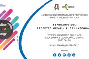 Seminario sul Progetto Mixar – Rugby Integrato