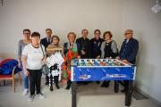 Un Calcio Balilla alla RSA Viale grazie all'Associazione pisana Valori e Tradizioni