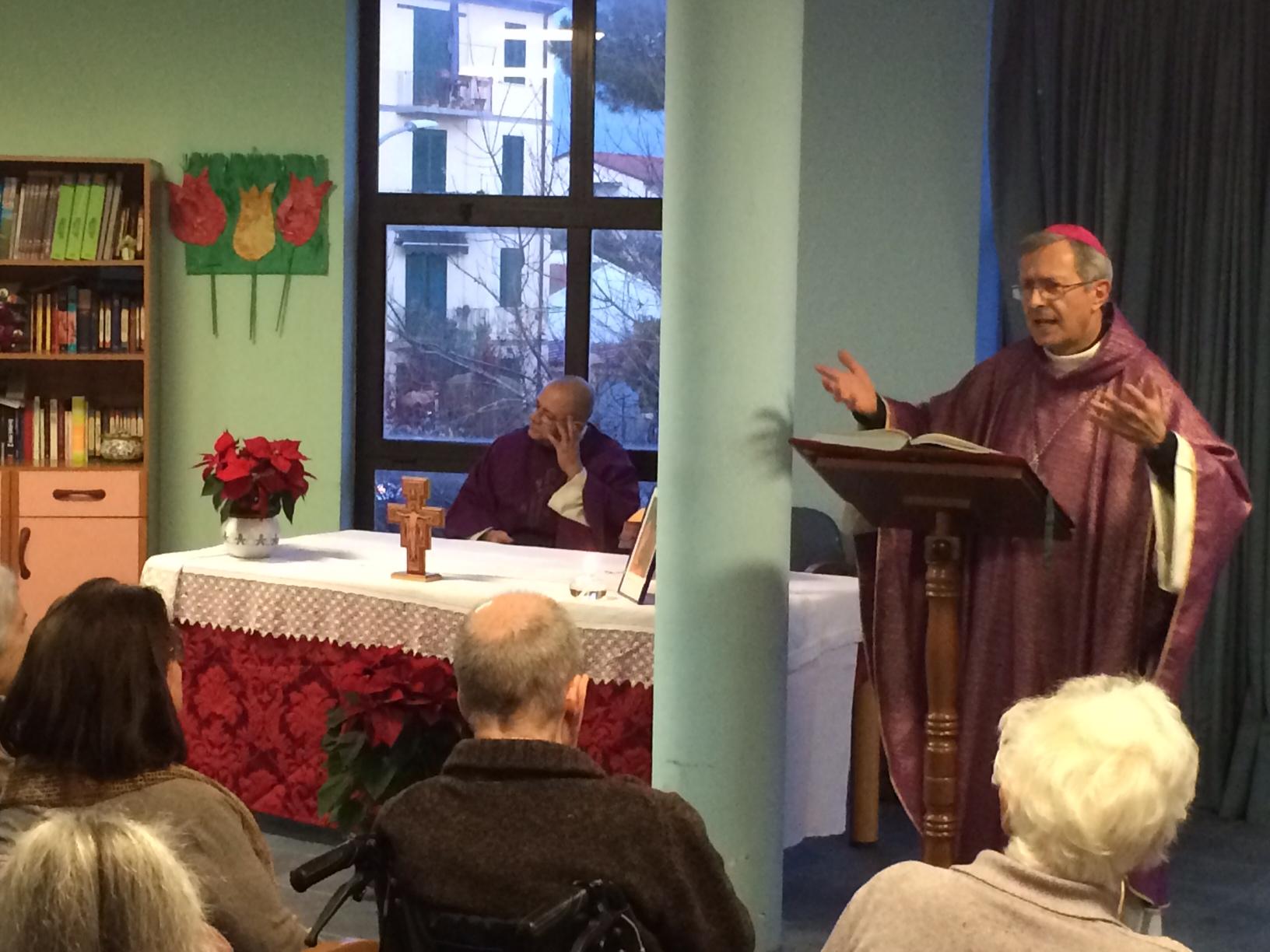 vescovo a casa mimosa