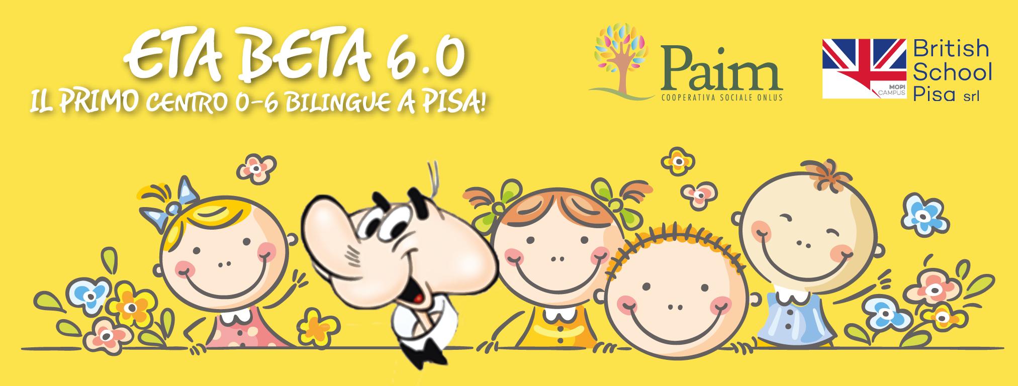 Una grande novità nel settore dei servizi educativi per Pisa  apre Eta Beta  6.0 6eff47ba753